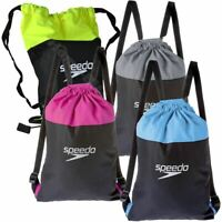 Speedo Swimming Swim Pool Bag 15 Litre Water Resistant Rucksack Holdall Kit New