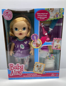 Hasbro Baby Alive Brushy Brushy Baby Doll With Accessories NEW SEALED