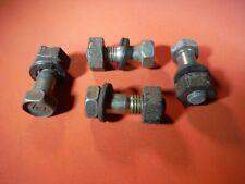 Miatamecca 4 Used Drive Shaft Bolt & Nut Kit 90-93 Mazda Miata MX5 N01025100 OEM