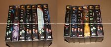 X FILES - COLLECTION VHS - CARTES COLLECTORS INCLUSES