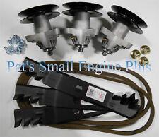 MTD / Cub Cadet RZT 50 RZT50 Mulch Blade, Spindle, Belt Deck Rebuild Kit w/bolts