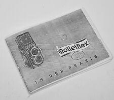 ROLLEIFLEX 2.8F MANUALE FOTOCOPIATO IN DEUTCH!