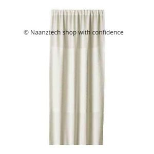 *New* PAPYRUSSÄV Curtain/room divider, 1 pack, White, 120x250 cm* Brand IKEA*
