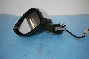 Citroen C4 II Nc Electric Exterior Mirror Left Foldable Blind Angle Spot Chrome