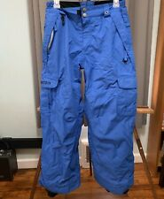 686 Blue L Youth Snowboarding Pants  Very nice FREE Shipping
