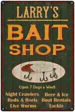 Larry'S Green Bait Shop Man Cave Wall Decor Gift Metal Sign 112180027032