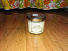 Bath & Body Works TOASTED COCONUT 4 oz Small Scented Candle