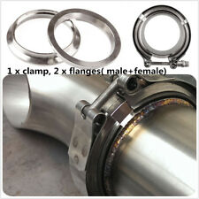 3inch Stainless Steel  304 V-band Clamp Flange Turbo Exhaust Down Pipe Tips