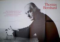 --- ALTES THOMAS BERNHARD POSTER PLAKAT ÜBERTREIBUNGSKUNST 59 x 84 cm