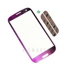 Samsung Galaxy S3 i9300 Touch Screen Lens Purple Front Glass Repair Part USA