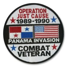 Panama - Operation Just Cause Patch - Combat Veteran - Noriega - Fort Sherman
