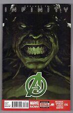 AVENGERS #16 - LEINIL YU COVER - STEPHANO CASELLI ART - MARVEL NOW - 2013