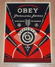 Shepard Fairey Art Print Propaganda Services Eye Obey Giant 2014 Poster S/# 450