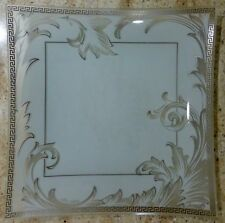 ROSENTHAL - VERSACE - ARABESQUE - SQUARE PLATE - 11 1/4 INCHES