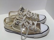 Converse Chuck Taylor All Star Clear Low Sneakers Transparent Shoes W 8 Mens 6