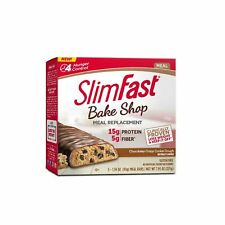 SlimFast Bakeshop Meal Replacement Bars -  Chocolatey Crispy Cookie Dough Bar...