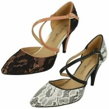 Zapatos de tacón de mujer Anne Michelle color principal negro sintético