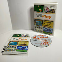 Wii Play Game (Nintendo Wii) Games Multi Sports Complete with Manual Tested