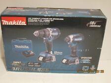 MAKITA XT269R 18V LXT 2.0Ah LITHIUM-ION BRUSHLESS CORDLESS 2-PC COMBO KIT-NISB!