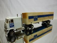 ERTL FORD TRUCK + TRAILER - FORD TRACTOR EQUIPMENT - 1:60? - GOOD CONDITION