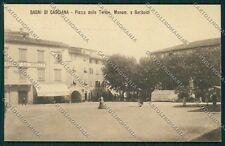 Pisa Casciana Terme Garibaldi cartolina QQ3191
