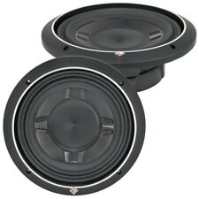 "ROCKFORD FOSGATE P3SD2-10 / PUNCH P3 SLIM SHALLOW 10"" DVC 2-OHM SUBWOOFER  *NEW*"