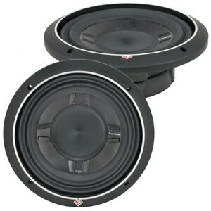 """ROCKFORD FOSGATE P3SD2-8 / PUNCH P3 SLIM SHALLOW 8"""" DVC 2-OHM SUBWOOFER  *NEW*"""