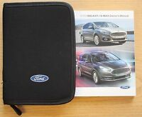FORD GALAXY S-MAX HANDBOOK OWNERS MANUAL WALLET 2015-2019 PACK LATEST