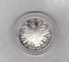 USA 1989S PROOF SILVER DOLLAR THE TRIUMPH OF DEMOCRACY IN MINT CONDITION/CAPSULE