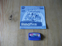 VTech InnoTab 1 2 3 Disney Pixa r- Minnie  - Game Cartridge 126