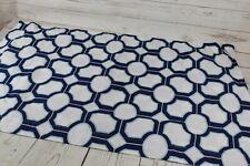 Pottery Barn Geometric Pillow Sham 36X20 Blue White Aqua