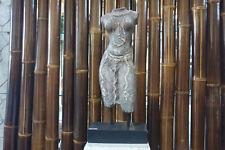 Büste Frau Torso Figur Statu antik Lavastein Asian Skulptur Garten Deko K035