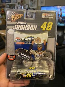 Winner's Circle #48 Jimmie Johnson Las Vegas Raced Win 1:64 W Hood Magnet 2007