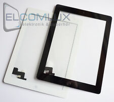 "Display Glas Scheibe Touch Screen Digitizer für iPad 2 ""Schwarz"""
