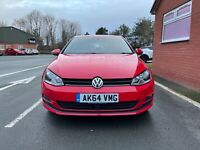 2014 VW Volkswagen Golf 1.6 TDI 105BHP Match Bluemotion 5SP Manual FSH 41K