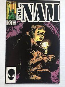The 'Nam #8 - FN- 1987 Marvel Comic