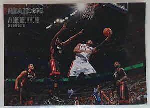 Carte Basketball NBA Panini Hoops 13/14 n°23 Andre Drummond Detroit Pistons