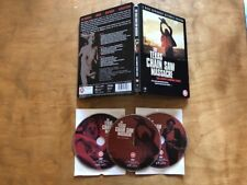 The Texas Chainsaw Massacre DVD*Second Sight*Region B Pal*Steelbook*3 Disc*OOP*