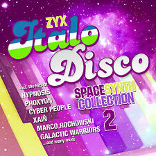 CD ZYX italo discoteca spacesynth Collection 2 di Various Artists 2cds
