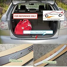 High Quality Stainless Steel Rear Bumper Trim Sill for Mazda CX-7 (2007-2017)