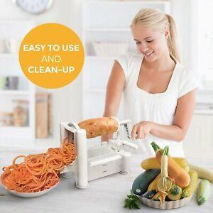 Rotary Non-Electric Vegetable Fruit Carrot Stick Maker Potato Slicer Dicer Salad