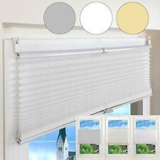 Store plisse de fenêtre store Vénitien polyester Store plissé pour Fenêtre