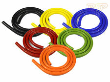 Silicone Vacuum Vac Boost Air Hose Pipe Tube Black Blue Green Orange Red Yellow