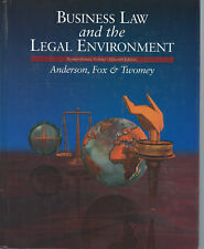 Business Law and the Legal Environment 15th Edition 1993 Hardcover Book