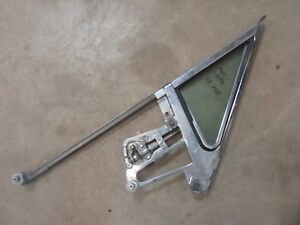 1964 Ford Thunderbird door vent window frame glass trim hot rod parts DRIVER