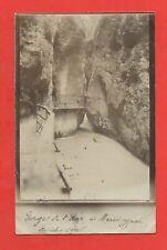 Fotografia Antica - Suisse - Gorges Da L Aar (K1405)