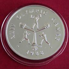 SAMOA 1988 OLYMPIC GAMES .999 SILVER 10 TALA