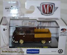 1961 VW DOUBLE CAB TRUCK LIMITED DIE-CAST 1:64 SCALE 2017 CASTLINE M2 MACHINES