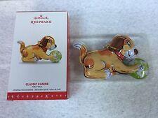 2016 Hallmark Ornament Classic Canine       Tin Toys #3