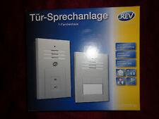 REV Ritter Tür-Sprechanlage Quattroline, 1-Familienhaus, silberfarben, hörerlos